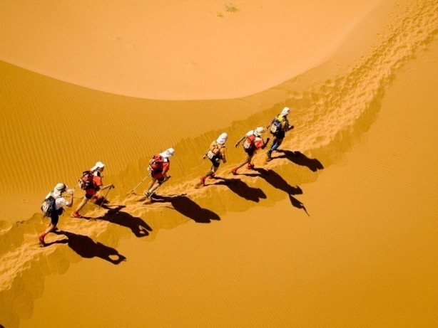 Facing up to the Marathon Des Sables - September 8th 2013